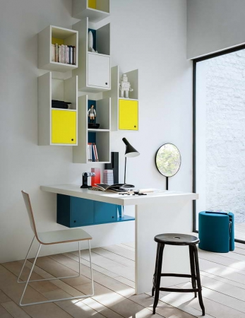 Nidi Desk and Shelves