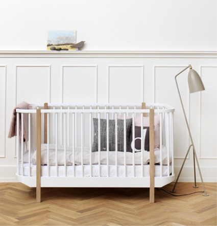 Oliver Wood Collection Cot